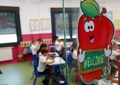 Clases bilingüe de primaria en Las Rozas