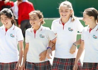 Niñas-secundaria colegio privado en Las Rozas Logos