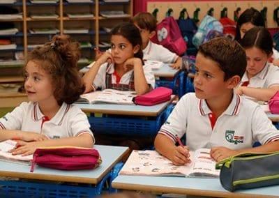 Clases de primaria en cole privado de Las Rozas