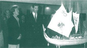 Visita del Príncipe D. Felipe de Borbón